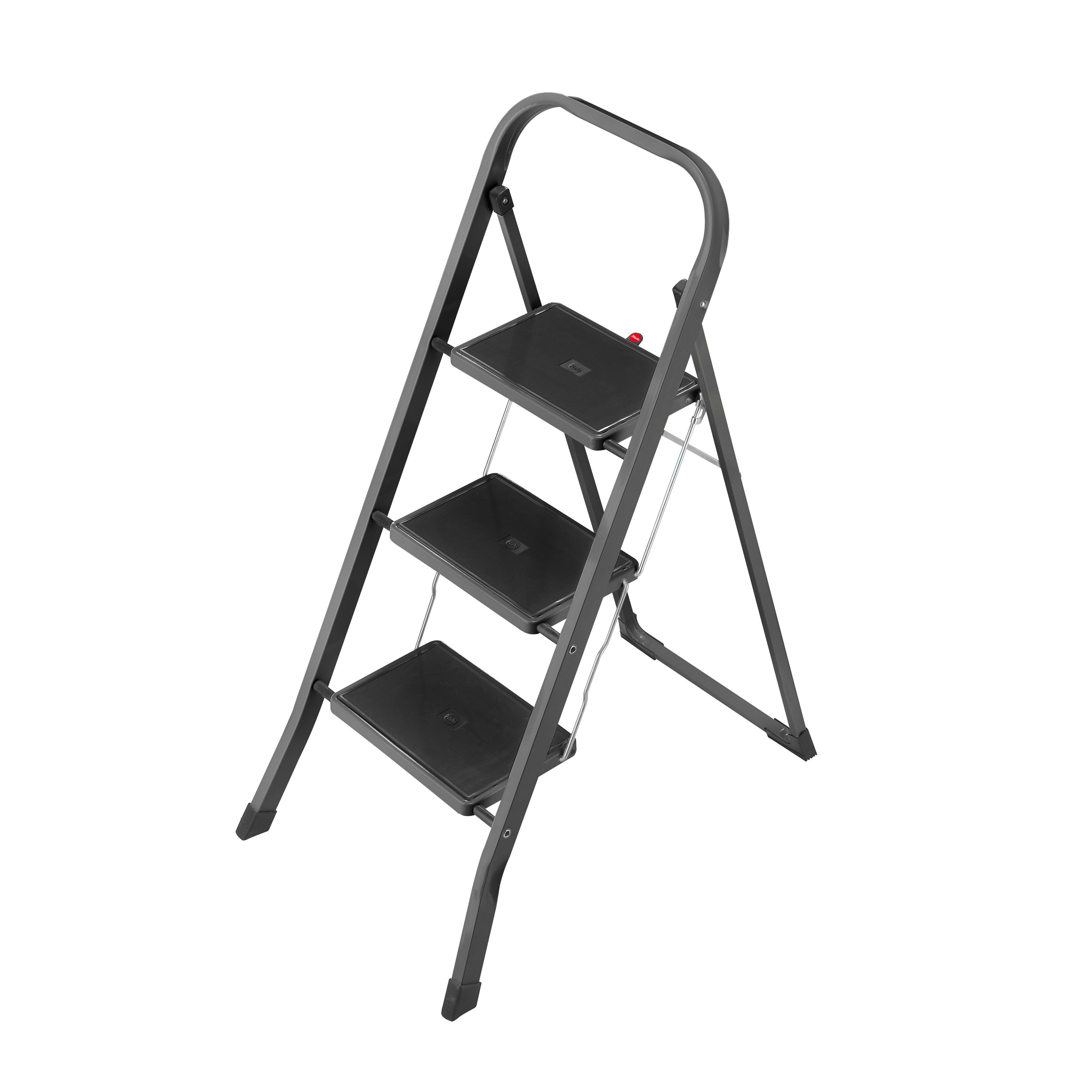 Wondrous Hailo K20 3 Steel Steps Folding Step Step Stool Step Ladder Folding Ladder Grey 4397971 At About Tea De Shop Ibusinesslaw Wood Chair Design Ideas Ibusinesslaworg
